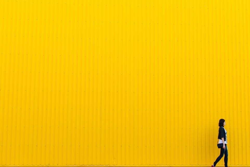 Golden Yellow Wall